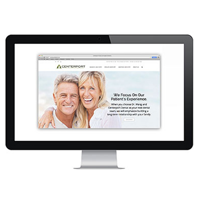 Centerport Dental Website