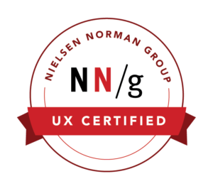 nn/g certification badge