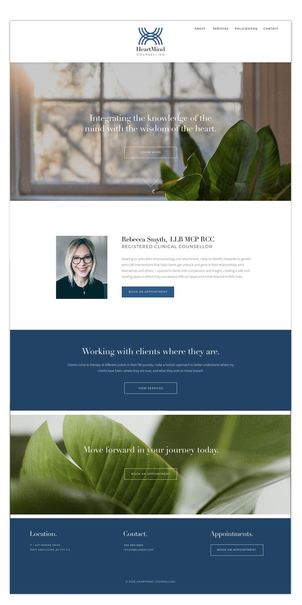 HMC website design