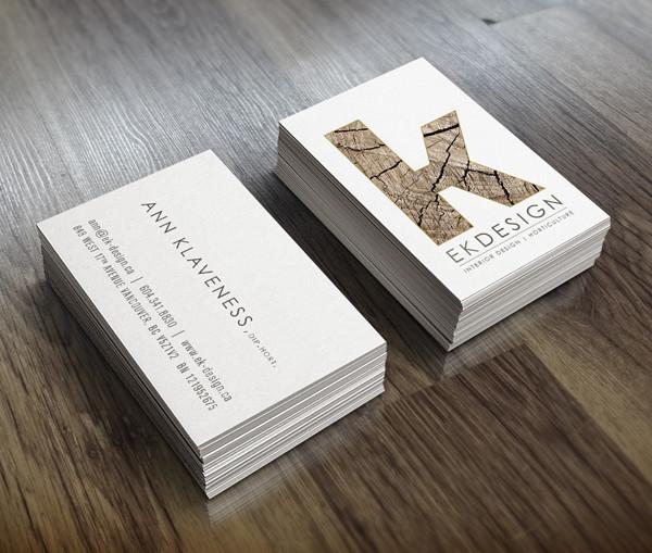 EK Designs Business Card